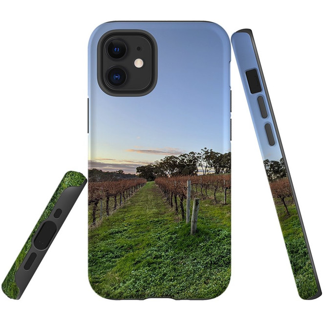 For Apple iPhone 12 Pro Max/12 Pro/12 mini Case, Tough Protective Back Cover, vinyard | iCoverLover Australia