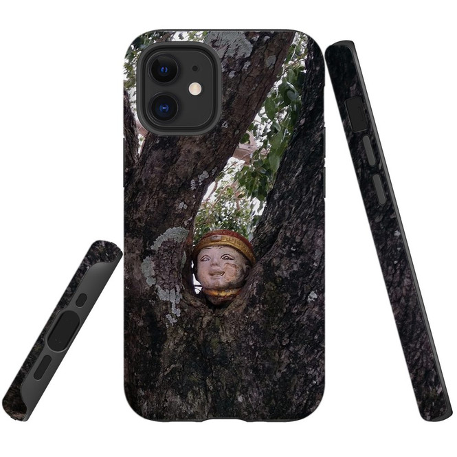 For Apple iPhone 12 Pro Max/12 Pro/12 mini Case, Tough Protective Back Cover, Creepy head | iCoverLover Australia