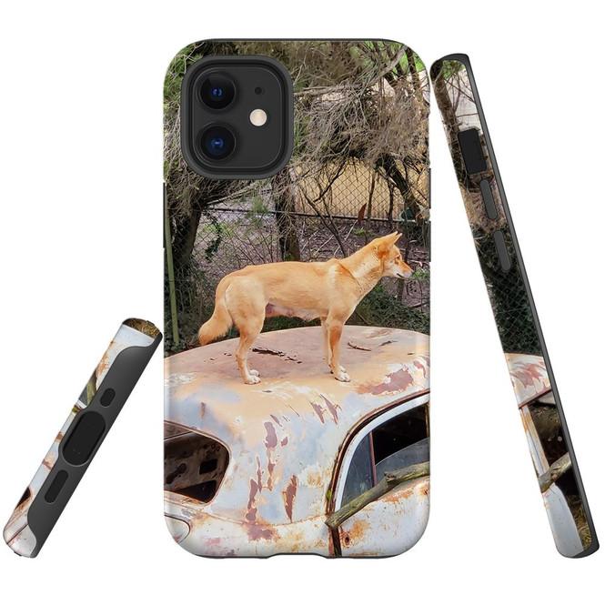 For Apple iPhone 12 Pro Max/12 Pro/12 mini Case, Tough Protective Back Cover, dingo | iCoverLover Australia