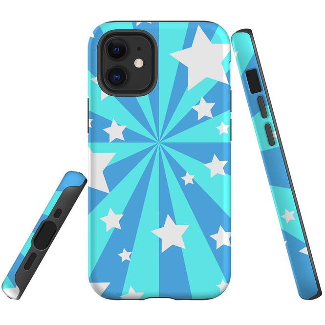 For Apple iPhone 12 Pro Max/12 Pro/12 mini Case, Tough Protective Back Cover, star pattern | iCoverLover Australia