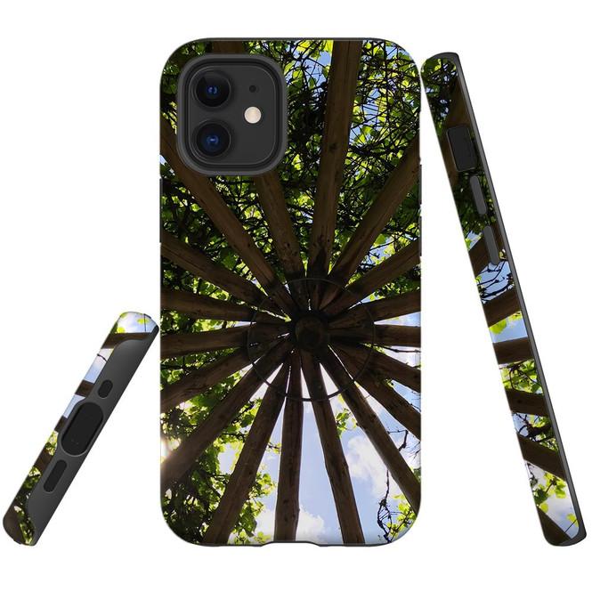 For Apple iPhone 12 Pro Max/12 Pro/12 mini Case, Tough Protective Back Cover, Garden Ceiling | iCoverLover Australia