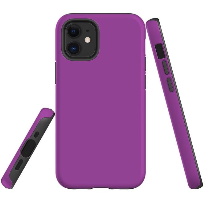 For Apple iPhone 12 Pro Max/12 Pro/12 mini Case, Tough Protective Back Cover, Purple | iCoverLover Australia