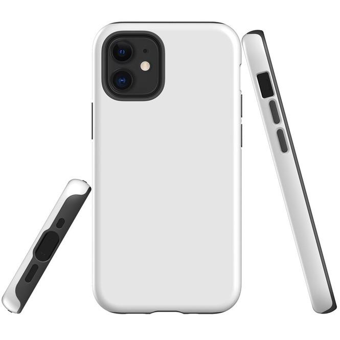 For Apple iPhone 12 Pro Max/12 Pro/12 mini Case, Tough Protective Back Cover, White | iCoverLover Australia