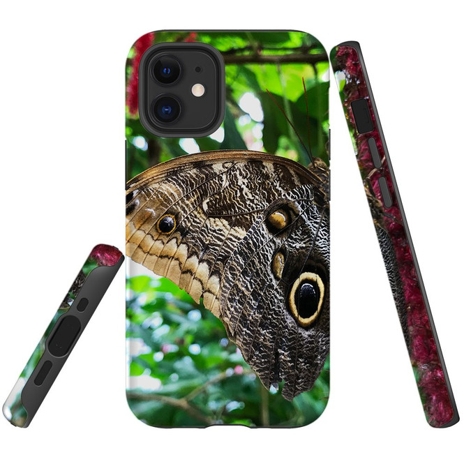 For Apple iPhone 12 Pro Max/12 Pro/12 mini Case, Tough Protective Back Cover, Butterflies Eyes | iCoverLover Australia