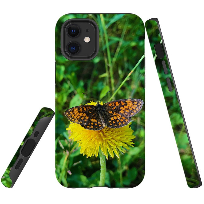For Apple iPhone 12 Pro Max/12 Pro/12 mini Case, Tough Protective Back Cover, butterfly showing off   iCoverLover Australia
