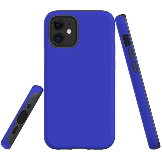 For Apple iPhone 12 Pro Max/12 Pro/12 mini Case, Tough Protective Back Cover, Blue   iCoverLover Australia