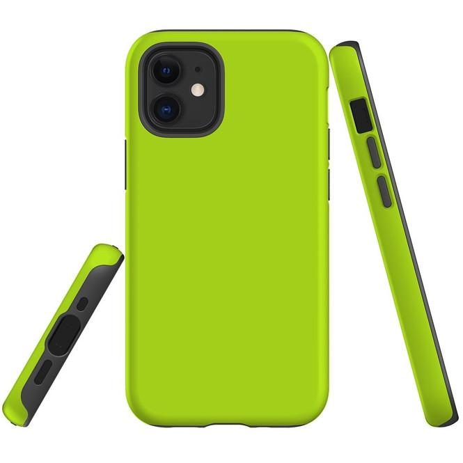 For Apple iPhone 12 Pro Max/12 Pro/12 mini Case, Tough Protective Back Cover, Light Green   iCoverLover Australia