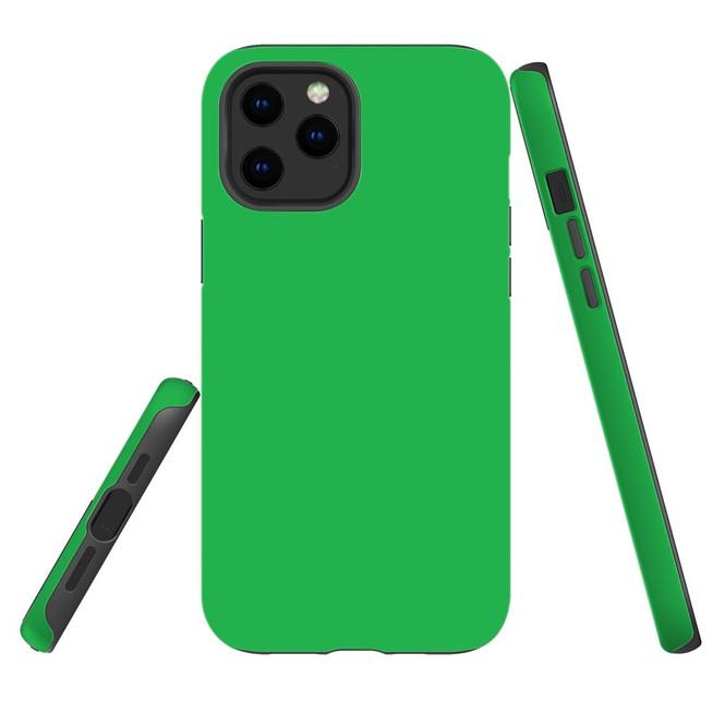 For Apple iPhone 12 Pro Max/12 Pro/12 mini Case, Tough Protective Back Cover, Green   iCoverLover Australia