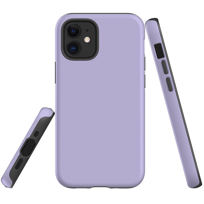 For Apple iPhone 12 Pro Max/12 Pro/12 mini Case, Tough Protective Back Cover, Lavender | iCoverLover Australia