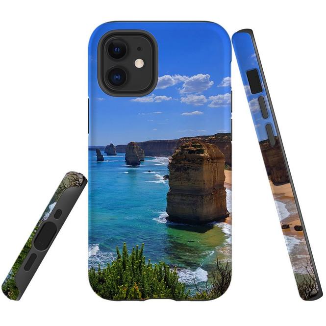 For Apple iPhone 12 Pro Max/12 Pro/12 mini Case, Tough Protective Back Cover, 12apostles | iCoverLover Australia