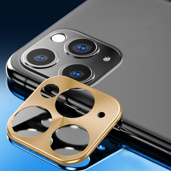 Rear Camera iPhone 11 Pro Max/11 Pro/11 Metal Lens Protection Cover Gold