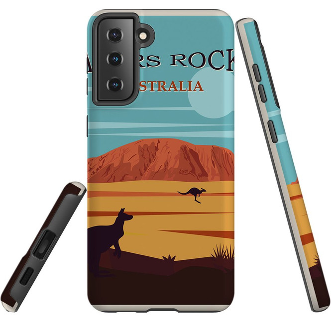 Samsung Galaxy S21 Ultra/S21+ Plus/S21  Case, Tough Protective Back Cover, Ayers Rock | iCoverLover.com.au | Phone Cases