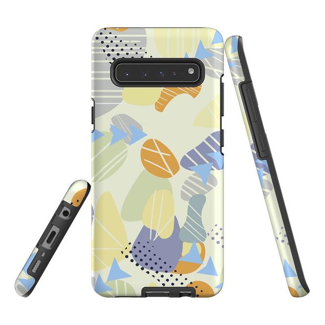 Protective Samsung Galaxy S Series Case, Tough Back Cover, Shape Fest   iCoverLover Australia