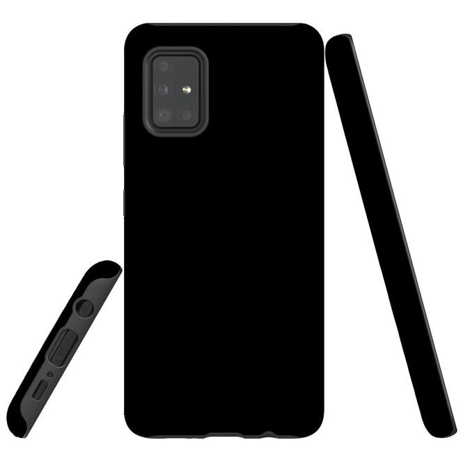 Samsung Galaxy A51 5G/4G, A71 5G/4G or A90 5G Case, Tough Protective Cover, Black   iCoverLover Australia