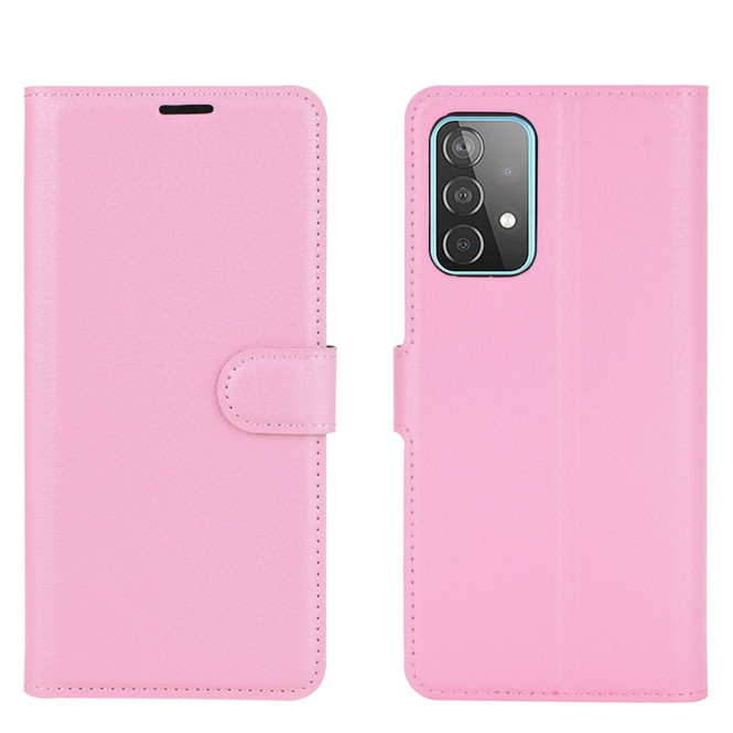 For Samsung Galaxy A52, A72, A90 5G, A71, A32 Case, PU Leather Wallet Cover, Stand, Pink  iCoverLover.com.au   Samsung Galaxy A Cases