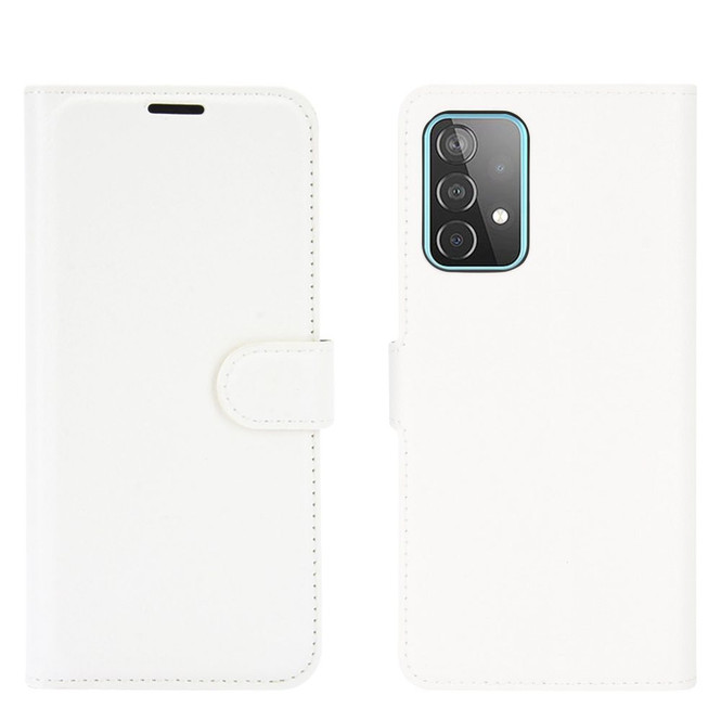For Samsung Galaxy A52, A72, A90 5G, A71, A32 Case, PU Leather Wallet Cover, Stand, White  iCoverLover.com.au   Samsung Galaxy A Cases