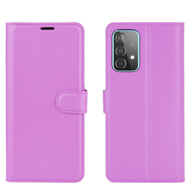 For Samsung Galaxy A52, A72, A90 5G, A71, A32 Case, PU Leather Wallet Cover, Stand, Purple  iCoverLover.com.au   Samsung Galaxy A Cases