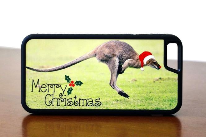 Christmas Jumping Kangaroo iPhone 6 & 6S Case | Protective iPhone Cases | Protective iPhone 6/6S Covers | iCoverLover