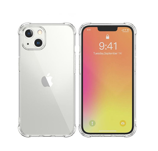 iPhone 13 Pro Max, 13, 13 Pro, 13 mini Case, TPU Shockproof Protective Light Cover, Clear | iCoverLover Australia