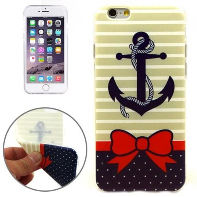 Anchor & Ribbon Grippy iPhone 6 & 6S Case | Fashion iPhone 6 & 6S Cases | Fashion iPhone 6 & 6S Covers | iCoverLover