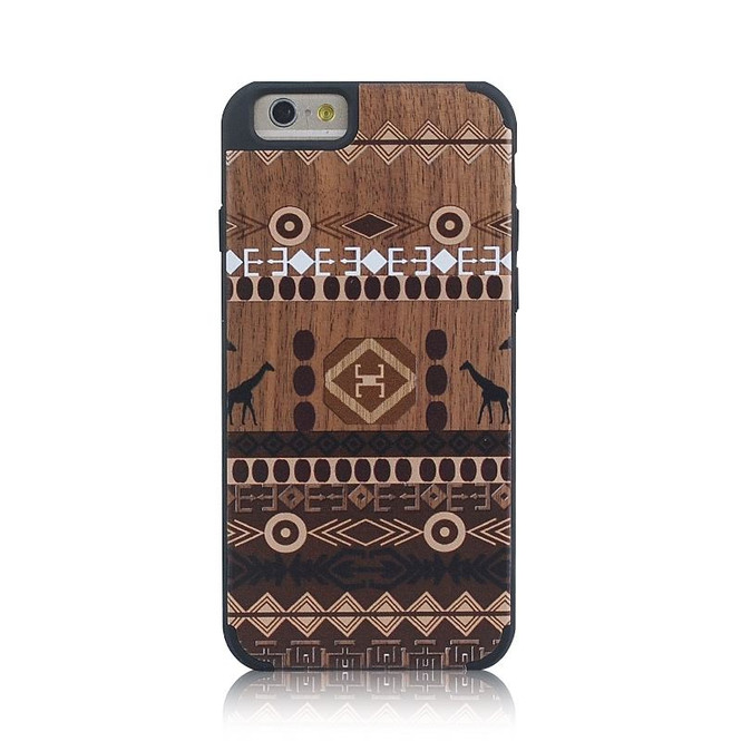 African Ethnic Wooden iPhone 6 & 6S Case | Wooden iPhone 6 & 6S Cases | iPhone 6 & 6S Covers | iCoverLover