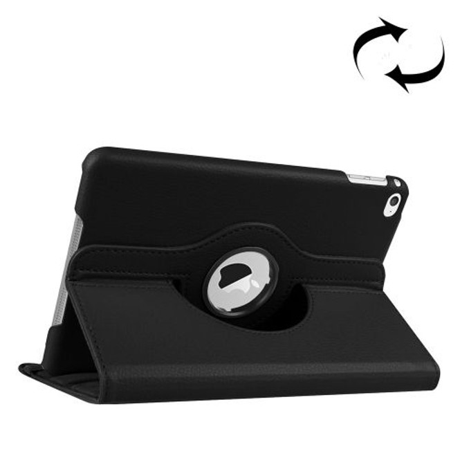 Black Leather iPad Mini 4 Case | iPad mini Cases Australia | iPad mini Cases | iCoverLover