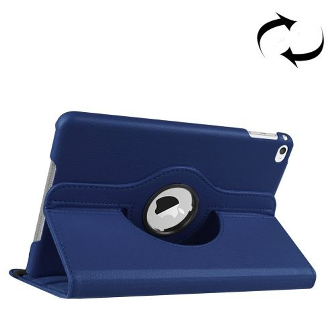 Dark Blue Leather iPad Mini 4 Case | iPad mini Cases Australia | iPad mini Cases | iCoverLover