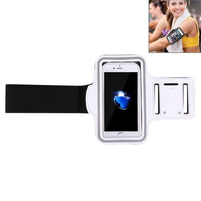 White Sports iPhone 8 PLUS & 7 PLUS Case Armband   Sport Universal Accessories   iCoverLover