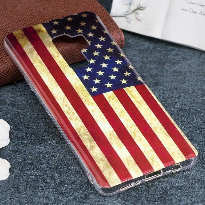 US Flag Pattern Soft Samsung Galaxy S9 PLUS Protective Back Case   Protective Samsung Galaxy S9 Plus Cases   Shielding Samsung Galaxy S9 Plus Covers   iCoverLover