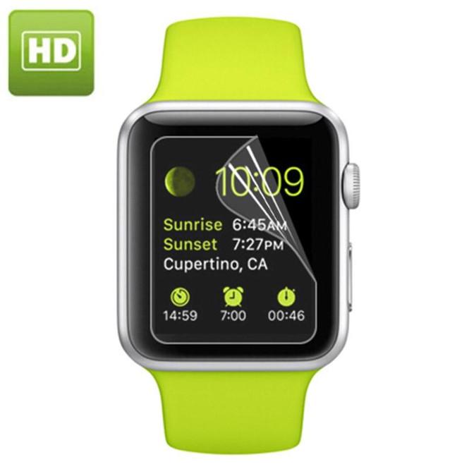 Apple Watch 1,2,3 (38mm) Diameter HD Screen Protector | PET Plastic Apple Watch Screen Protectors | iCoverLover