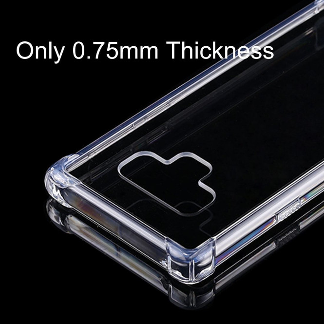 Samsung Galaxy Note 9 Back Case 0.75mm Clear TPU Back Shell Cover | Protective Samsung Galaxy Note 9 Covers | Protective Samsung Galaxy Note 9 Cases | iCoverLover