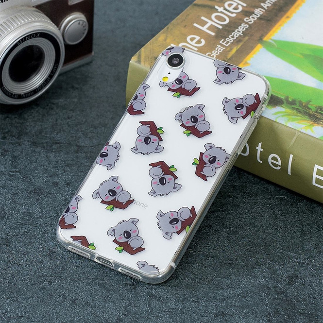 iPhone XR Case Koala Pattern TPU Protective Back Cover with Scratch-Resistant, Enhanced Grip & Impact-proof | Protective Apple iPhone XR Cases | Protective Apple iPhone XR Covers | iCoverLover
