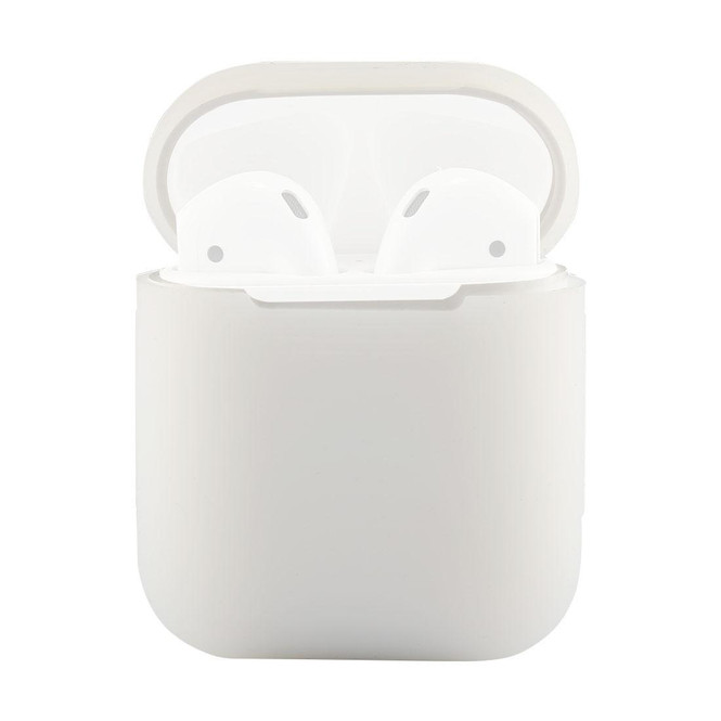 For Apple Airpods 1 & 2 Storage Bag Clear Silicone Protective Box with Impact-resistant, Scratch-proof and Antiloss | AirPods Accessories | iCoverLover