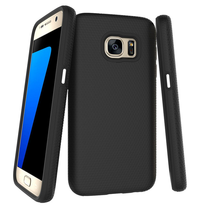 Black Armor Samsung Galaxy S7 Case | Armor Samsung Galaxy S7 Cases | Armor Samsung Galaxy S7 Covers | iCoverLover
