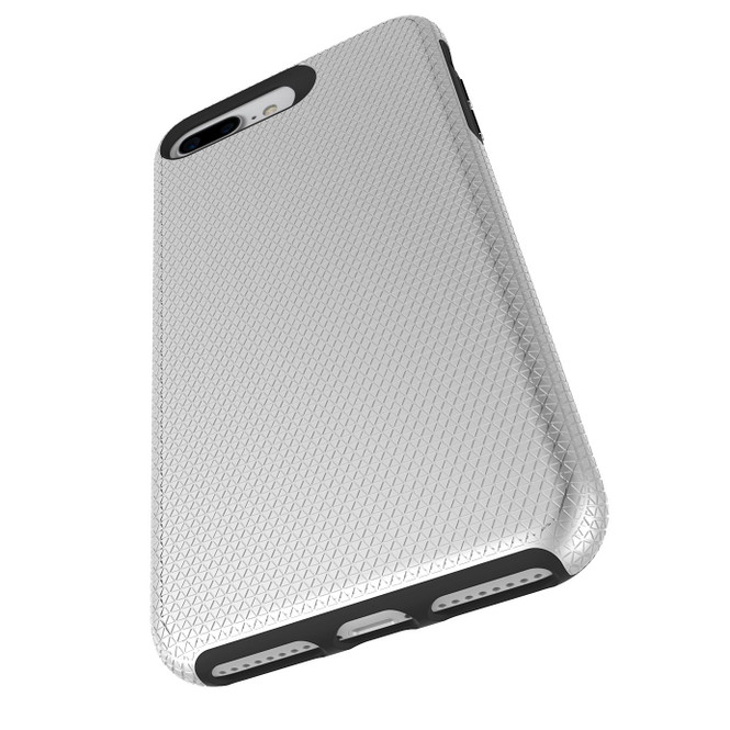 Silver Armor iPhone SE (2020) / 8 / 7 / 6s / 6 Case | iCoverLover