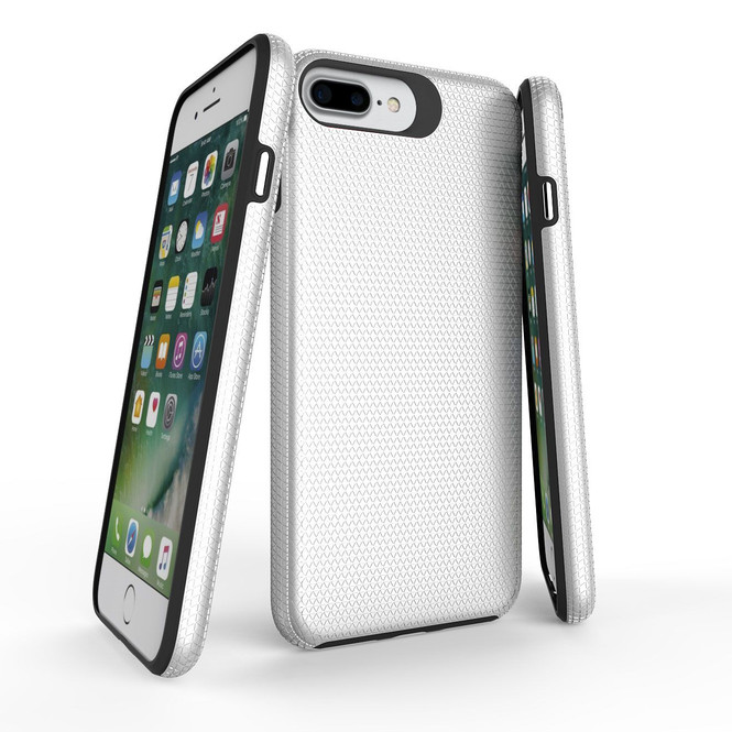 Silver Armor iPhone 6 PLUS & 6S PLUS Case   Protective iPhone Cases   Protective iPhone 6 PLUS & 6S PLUS Covers   iCoverLover