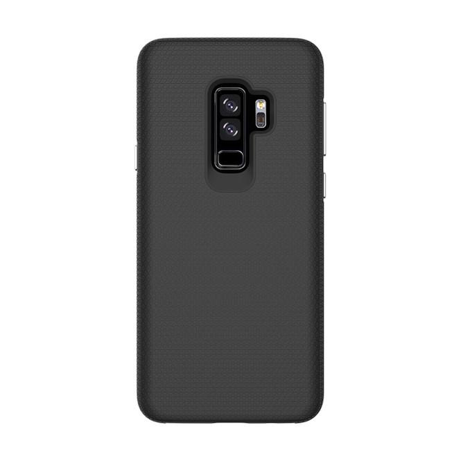 Black Shockproof Protective Samsung Galaxy S9 PLUS Case   Armor Samsung Galaxy S9 Plus Cases   Shielding Samsung Galaxy S9 Plus Covers   iCoverLover