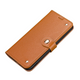 Samsung Galaxy S20+ Plus Case Genuine Leather Luxury Wallet Case Light Brown