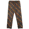 Print Silk Drawstring Pants