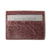 Bordeaux Card Wallet