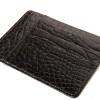 Black Alligator Card Wallet