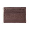 Burgundy Leather Card Holder