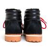 Black Ponyhair Hiking Boot