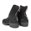 Buffalo Suede Back-Zip Boot