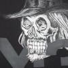 Yohji's Skull Hoodie