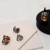 Silver & Bronze 'Enki' HUNROD ring