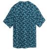 Black & Blue Cabana Shirt