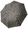 Bone Skull & Leopard Folding Umbrella