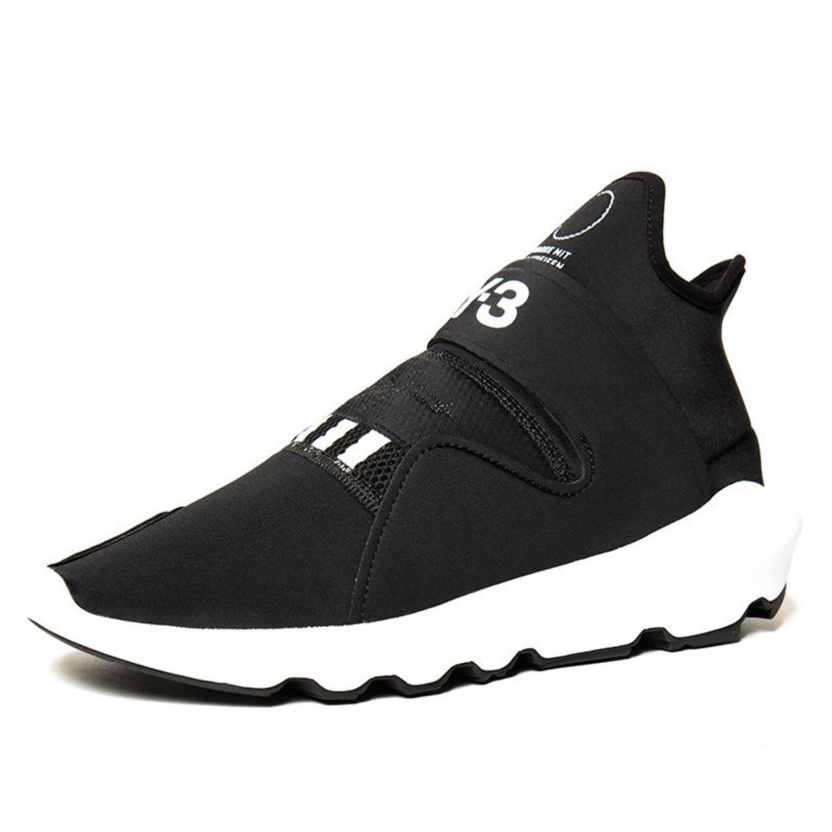 a38268b94c5a3 Y-3 Suberou Black Glove Sneaker for Men