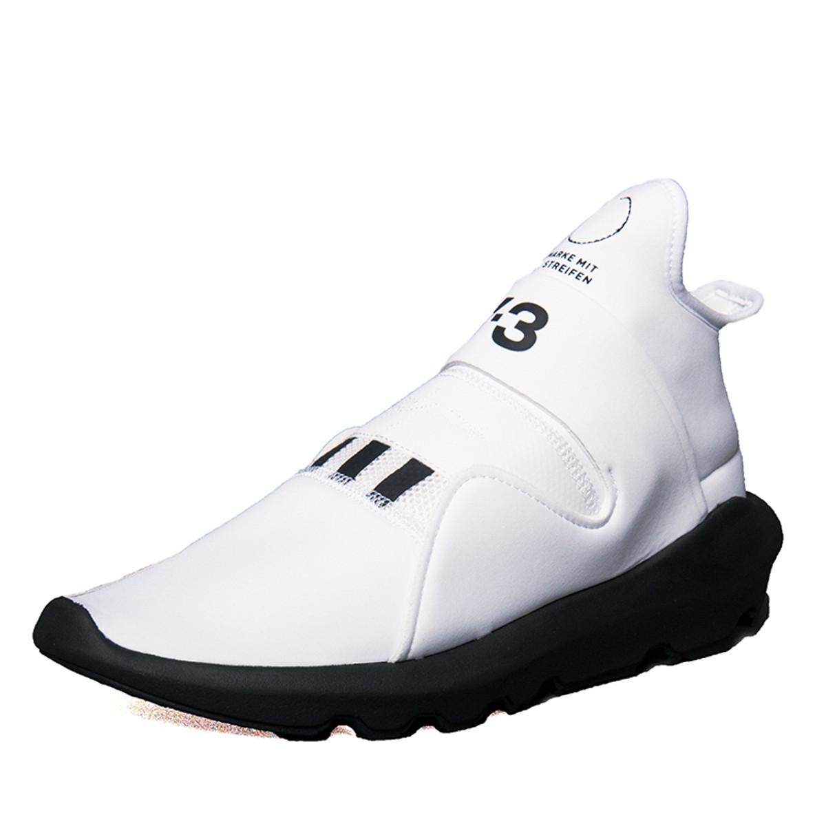 3627fcb4145d Y-3 White Suberou Glove Sneaker for Men